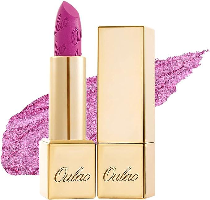 29 opinioni per OULAC Metallico Brillare Rossetto, Glitter 3D Lunga Durata, Altamente pigmentato