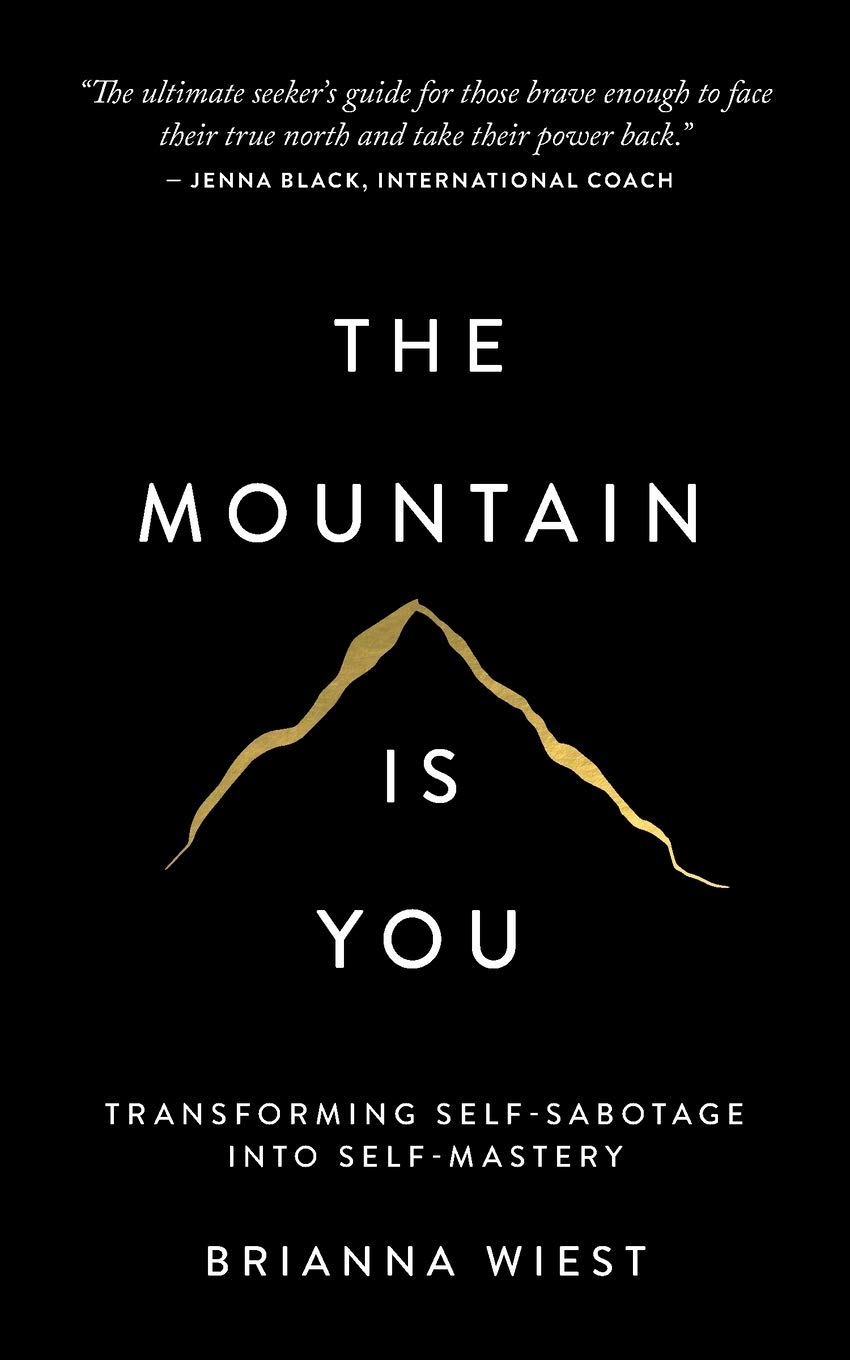 Cover image of The Mountain Is You by Brianna Wiest