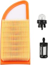 Trustsheer 4282 141 0300 Air Filter Cleaner with Fuel Filter Primer Bulb for Stihl BR500 BR550 BR600 Backpacck Blower