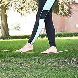 Ultrasport Slackline-Set 15 m lang, 5 cm breit - 7