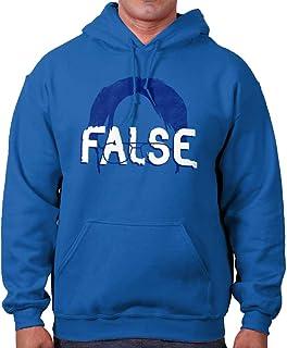 Brisco Brands False Funny Comedy TV Show Character Nerdy Hoodie