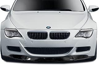 Aero Function Replacement for 2006-2010 BMW M6 E63 E64 Carbon AF-1 Front Lip Spoiler - 1 Piece (CFP)