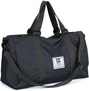 Travel Bag Gym Bag with Shoes Compartment and Wet Dry Storage Pockets for Sport Yoga Fitness Travel Duffel Bag High Capacity for Men and Women