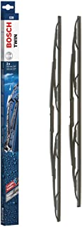 "Bosch Twin Standard 3397001539 Original Equipment Replacement Wiper Blade - 26""/22"" (Set of 2)"
