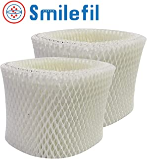 Smilefil 2-Pack Replacement WF2 Kaz & Vicks Humidifier Wick Filters Compatible with Vicks V3500N, V3100, V3900 Series, V3700, Sunbeam 1118 Series & Honeywell HCM-350 Series