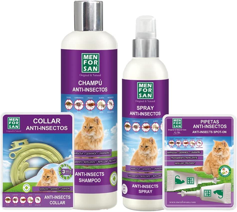 repelente de pulgas gatos