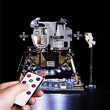 Vonado LED Light Kit for Lego 10266 NASA Apollo 11 Lunar Lander Lighting Set Building Blocks Toys Christmas Halloween Festival Gift((Not Include Lego Set))