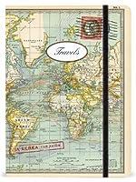 Cavallini Notebooks World Travels 6 x 8 【Creative Arts】 [並行輸入品]