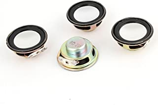 uxcell a14040900ux0419 Repair Part 36mm Dia Internal Speakers Magnet 8Ohm 2W for PC Laptop Pack of 4