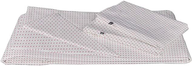 Urban Linens Duvet Set 250H - Stripes Checks Rosa (Matri/Queen)