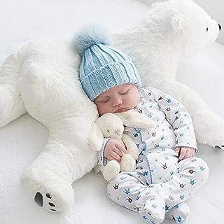 Shengruhua Polar Bear Plush Toy Squishy Stuffed Plush Toy for Kids Babies Classic