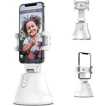 Mankoo Stabilizzatore Gimbal per Smartphone, Supporto per Telefono Intelligente per Il Rilevamento Automatico del Telefono A 360 Gradi di Rilevamento Automatico del Viso per Smartphone