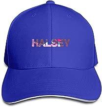 100% Cotton Halsey-Badlands World Tour Six Panel Cap Hat Blue