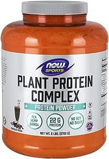 Now Sports Nutrition, Plant Protein Complex, Chocolate Mocha, 6-Pound