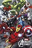 empireposter Avengers - Assemble - Cartoon Comic Poster