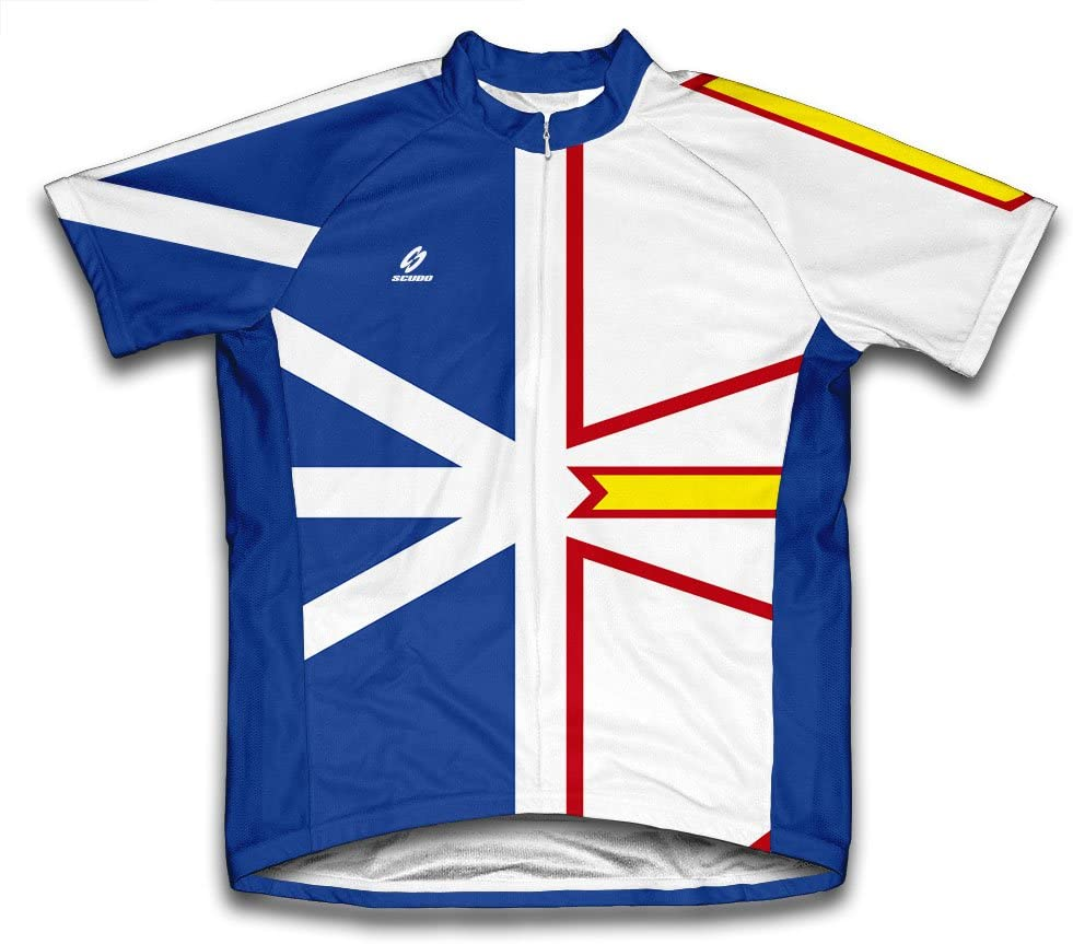 ScudoPro Popularity Newfoundland and Labrador Short f Sleeve Jersey Max 86% OFF Cycling