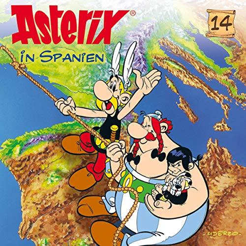 Asterix in Spanien Titelbild