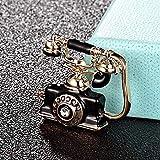 BAJIE Brosche Mode Telefon Festnetz Telefon Form Brosche Herrenbekleidung Schmuck Hijab Zubehör Damen Punk Retro Schal Pin