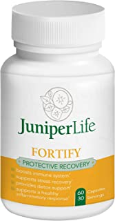 Fortify: Immune Booster & Recovery w/Transfer Factors, Vitamin D, Zinc, Reishi Mushroom, Plus Stress & Sports Recovery