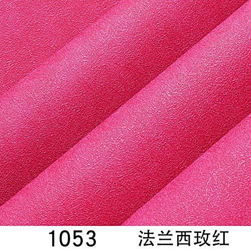 ACCEY Moderna sala de estar minimalista TV fondo papel de pared rojo ins color pigmentado puro dormitorio mesita de noche estilo nórdico -1053 francés rosa rojo papel tapiz solo