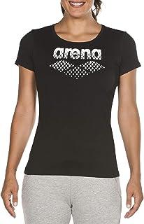 ARENA ARES5 Women's Damen T-Shirt Essential Front Logo