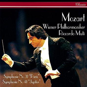 Mozart: Symphonies Nos. 31 & 41