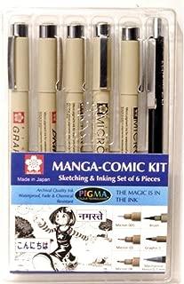 Sakura Manga Comic Kit, Black