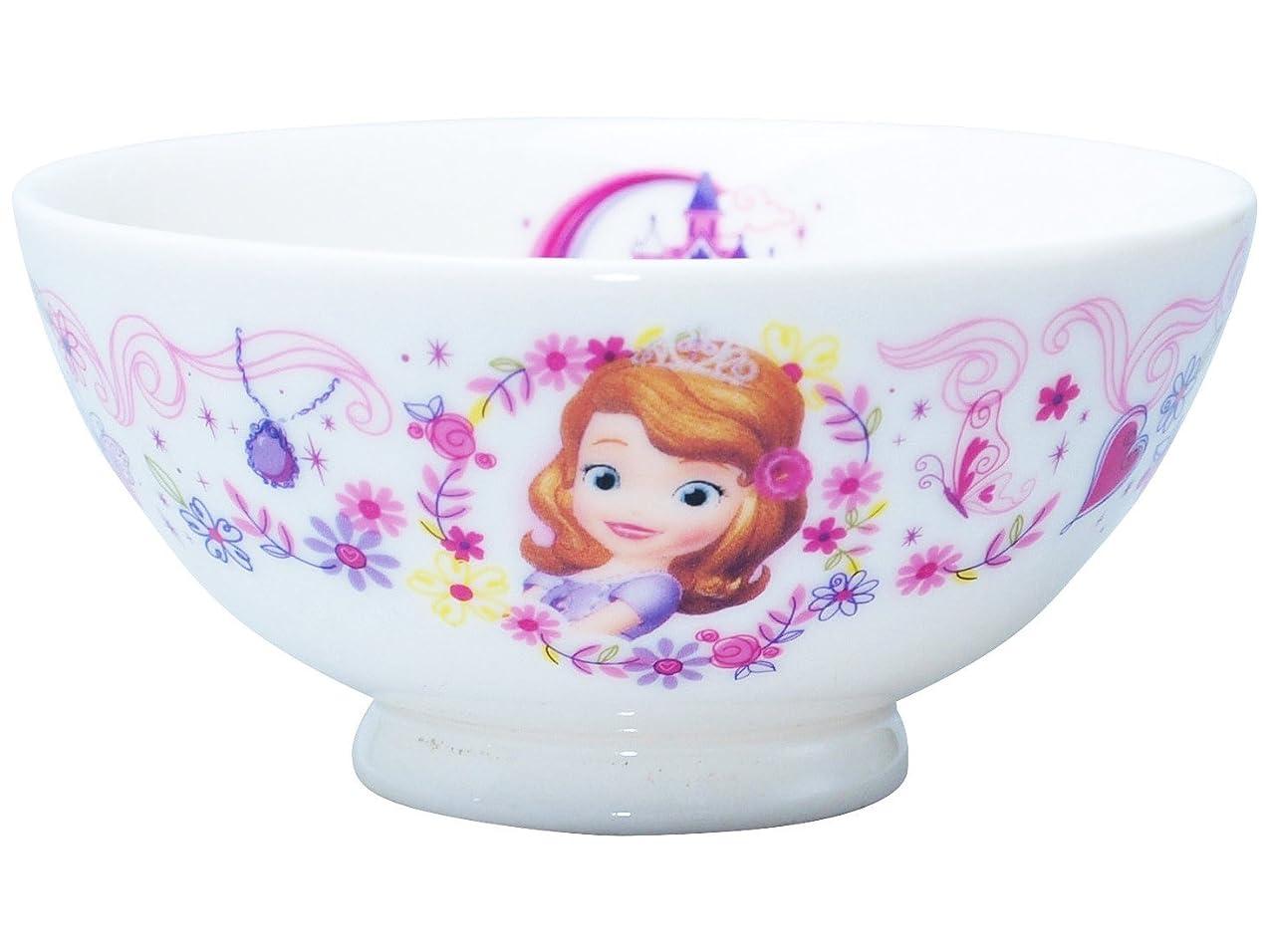 宣教師メール降臨ディズニーチャンネル 「 ちいさなプリンセス ソフィア 」 レインボー ジュニア お茶碗 直径11cm レインボー 113137