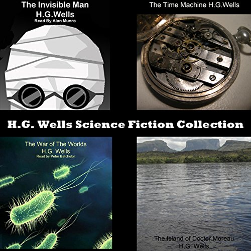 H.G. Wells Science Fiction Collection cover art