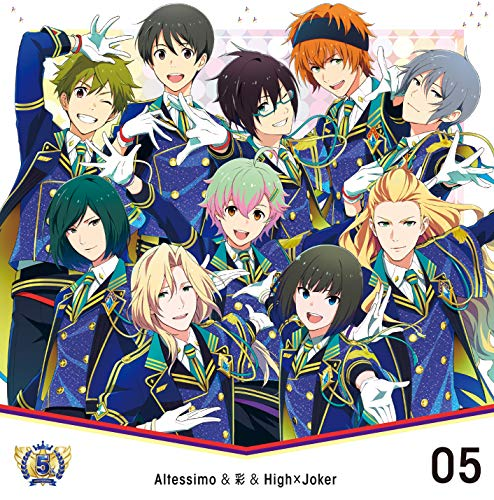 [single]THE IDOLM@STER SideM 5th ANNIVERSARY DISC 05 Altessimo&彩&High×Joker(Singing Explorers) – Altessimo&彩&High×Joker[FLAC + MP3]
