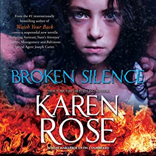 Broken Silence     The Baltimore Series, Book 3.5              Written by:                                                                                                                                 Karen Rose                               Narrated by:                                                                                                                                 Marguerite Gavin                      Length: 1 hr and 44 mins     Not rated yet     Overall 0.0