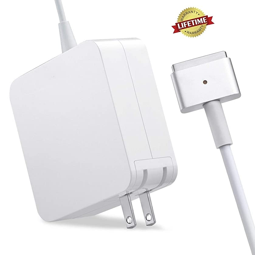 Mac Book Air Charger,Replacement 45W Magsafe 2 Power Adapter T-Tip Charger for Mac Book Air 11 inch and 13 inch … (45T)