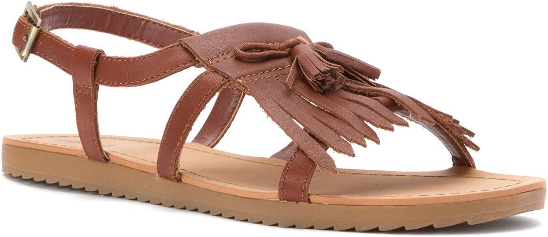 Kelsi Dagger One Women US 8.5 Brown Sandals