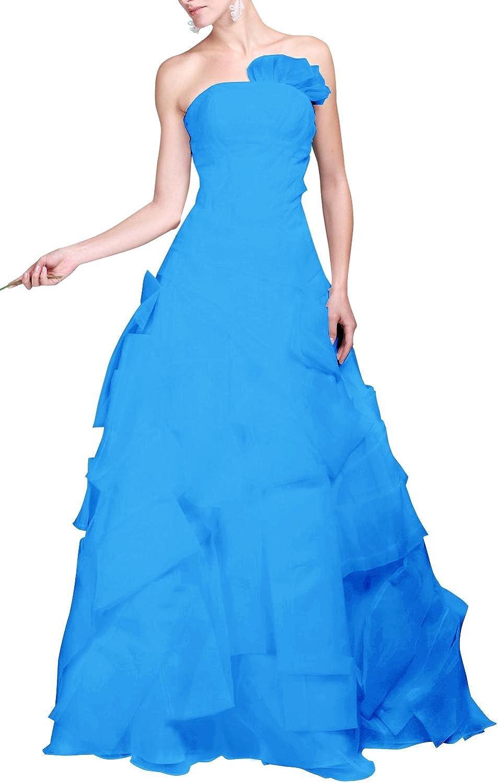 MittyDresses White Organza Wedding Dress Aline Bohemia Boho Wedding Dress Bridal Gown Size 2 US Ocean bluee