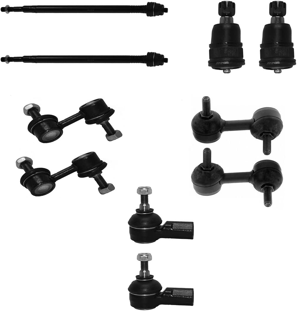 Detroit Axle - Front Inner Outer Tie Ends Max 59% OFF Rod End Now free shipping Bar Sway Links