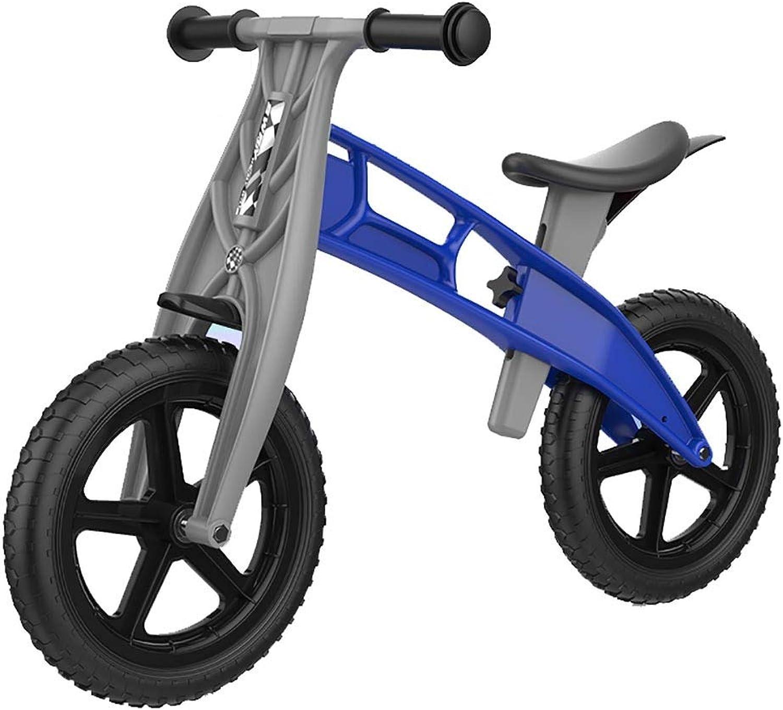 punto de venta barato Bicicleta sin pedales pedales pedales YXX Bici de la Bici de la balanza de los Niños de los Niños pequeños con el Asiento Ajustable, Juego para 1 2 3 4 5 6 años Babys (Color   Azul)  suministro directo de los fabricantes