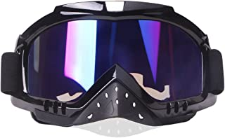 snowmobile helmet with goggles