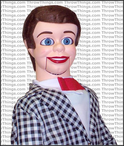 ThrowThings.com Danny O'Day Deluxe Upgrade Ventriloquist Dummy