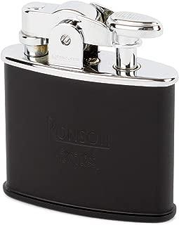 Ronson Standard R02-0028 Mat Black Stylish Design Made in JAPAN Oil Lighter