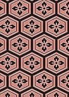igsticker ポスター ウォールステッカー シール式ステッカー 飾り 1030×1456㎜ B0 写真 フォト 壁 インテリア おしゃれ 剥がせる wall sticker poster 004407 その他 模様 シンプル ピンク