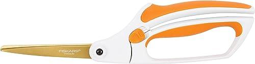 Fiskars 10 Inch Titanium Easy Action Scissors