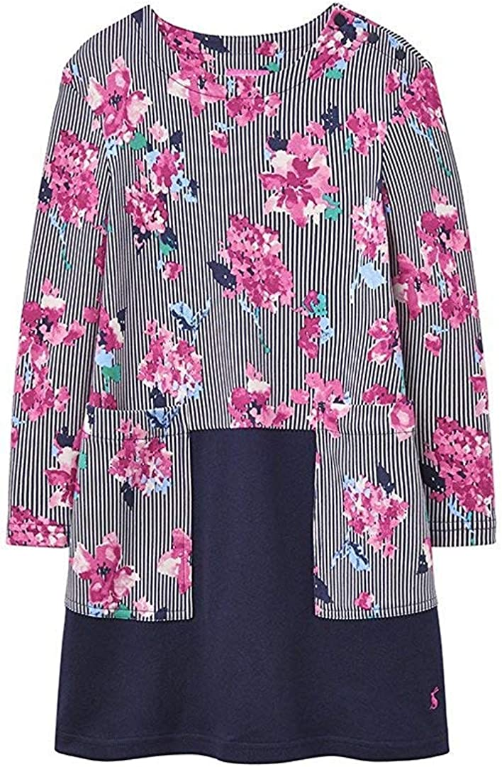 Joules Hotch Potch Dress - Stripe Floral