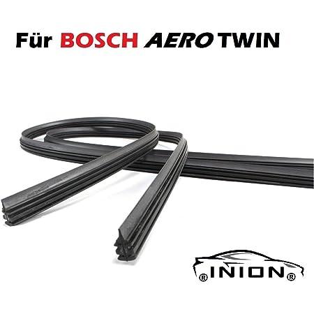 600 450 2x Wischergummi Scheibenwischer Gummis Ersatz Kompatibel Mit Bosch Aerotwin Scheibenwischer Inion 2x Ersatzgummi 600mm 450mm Auto