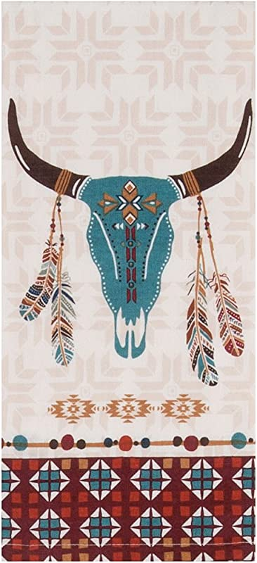 Kay Dee Designs Southwest At Heart Skull Tea Towel