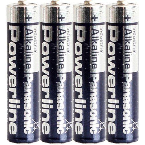 Panasonic Powerline AAA LR03MN2400Batterie Industrial Alkaline Batterien 24er