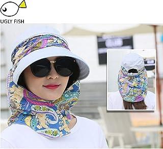 CGXBZA Sombreros para el Sol Sombreros de Verano para Mujeres Sombrero de Playa Visera para el Sol Sombrero Visor