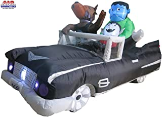 halloween car inflatable