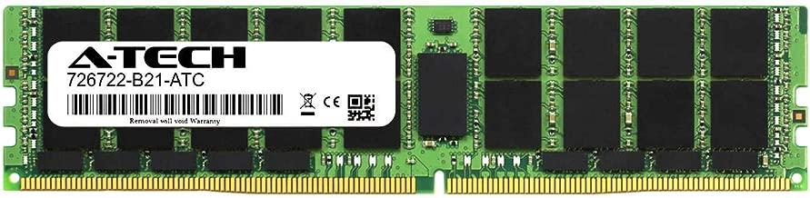 A-Tech 32GB Replacement for HP 726722-B21 - DDR4 2133MHz PC4-17000 ECC Load Reduced LRDIMM 4rx4 1.2v - Single Server Memory Ram Stick (726722-B21-ATC)