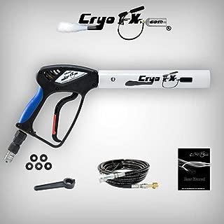 CryoFX Cryo Gun WHITE- Handheld CO2 Cannon, Kryo Jet, Fog Cryo Jet Blaster