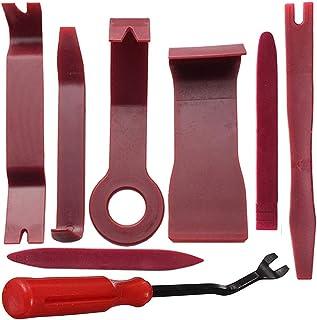 Wakauto Conjunto de ferramentas de remoção de acabamento com 8 peças, conjunto de ferramentas de remoção de acabamento par...